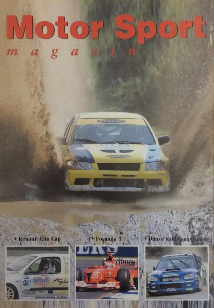Motor Sport Kapağı